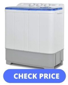 KUPPET 21lbs Compact Twin Tub Washer
