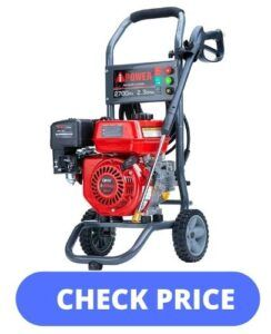 A-iPower APW2700C Gas Powered 2700 PSI Pressure Washer