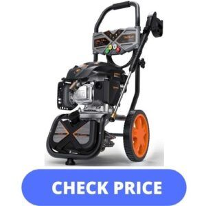 TACKLIFE 3200 PSI Pressure Washers For Concrete Driveway
