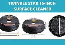 Twinkle Star 15-Inch Surface Cleaner