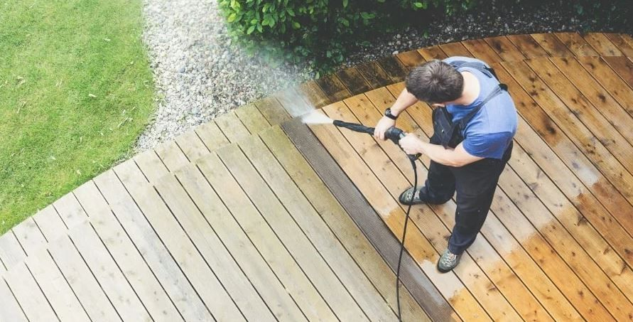 how to use pressure washer to remove mold and mildew