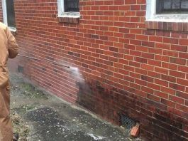 Use A Pressure Washer To Remove Mold