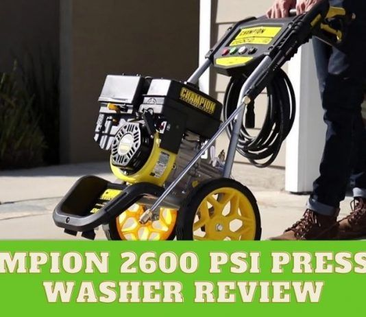 Champion 2600 PSI Washer Review